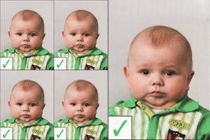 Pasfoto-baby