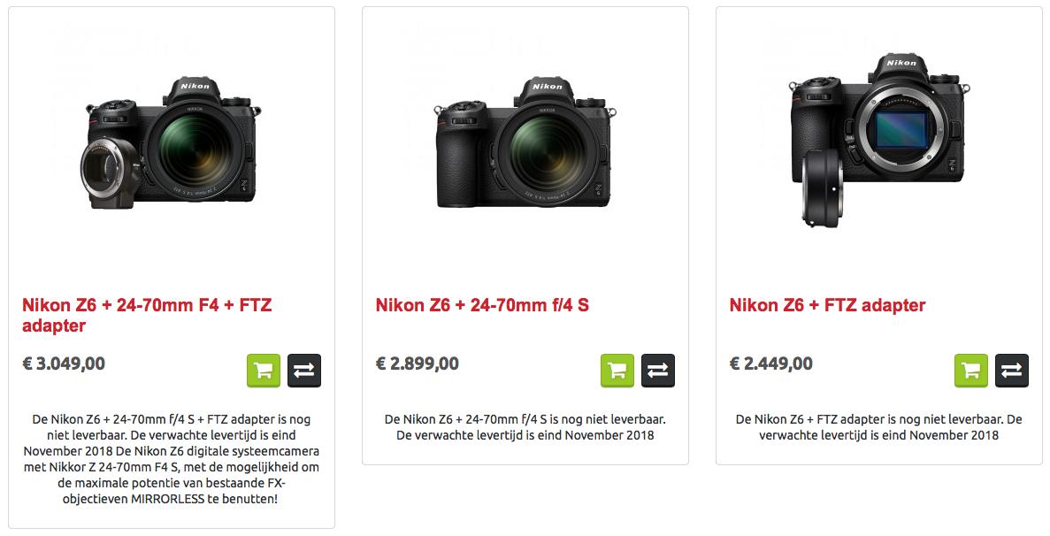 Nikon Z6 FTZ 24-70 F4.0